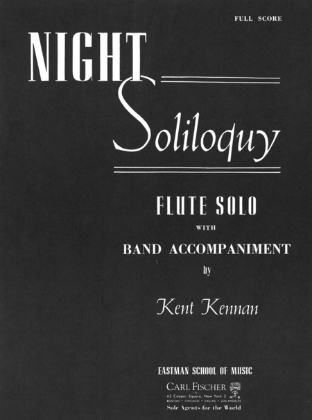 Night Soliloquy