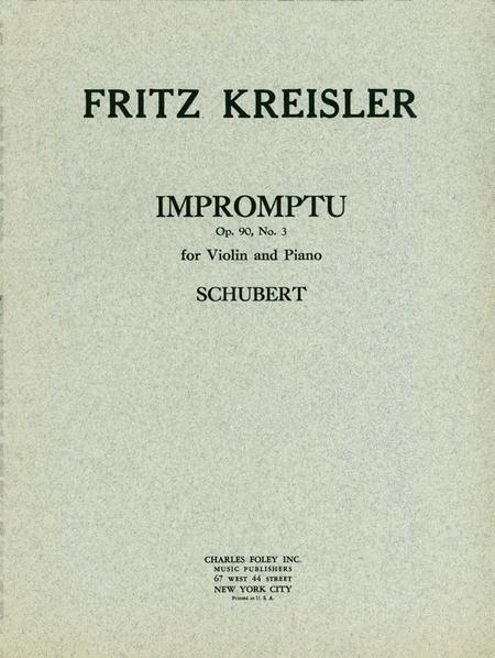 Impromptu Opus 90