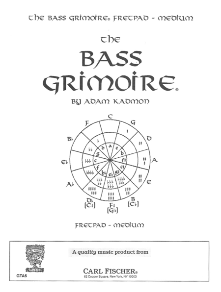 Bass Guitar Grimoire-Fretpad-Medium