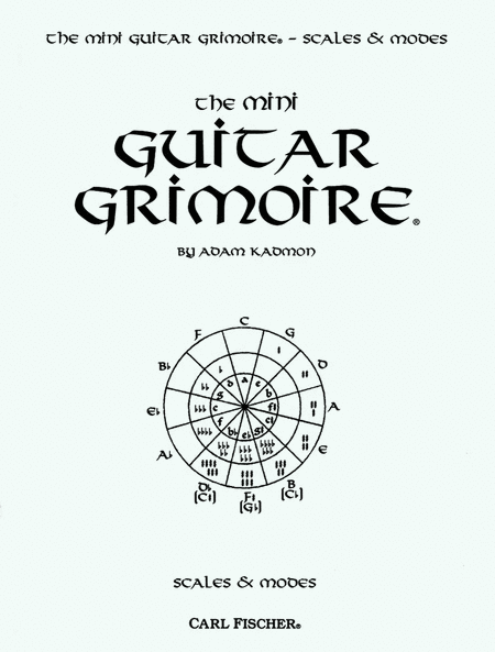 Mini Guitar Grimoire-Scales & Modes