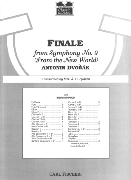 Finale (4th Movement) from The New World Symphony
