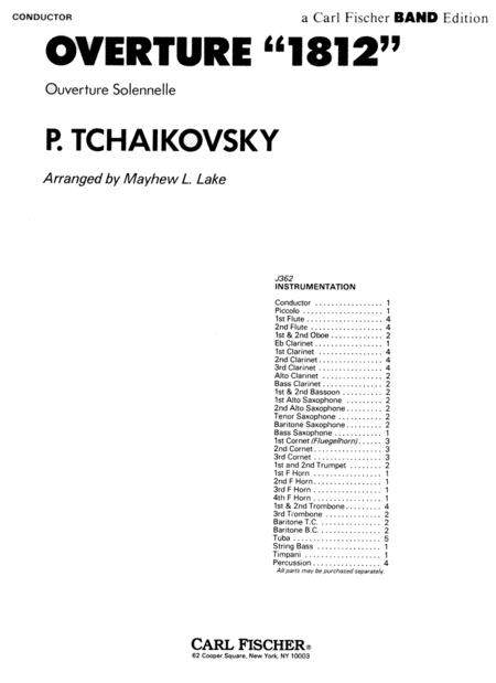 Overture '1812' (Overture Solennelle)
