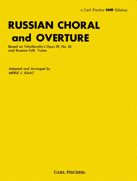 Russian Choral And Overture