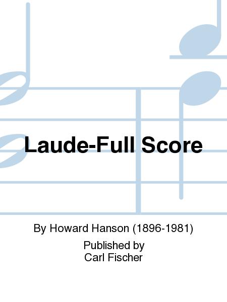 Laude-Full Score