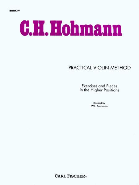 Practical Violin Method-Bk. IV