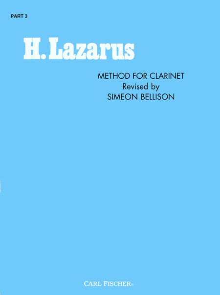 Method For Clarinet #3