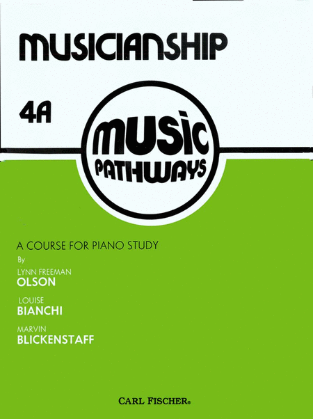 Music Pathways - Musicianship 4A