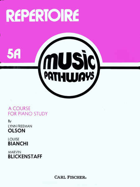 Music Pathways - Repertoire 5A