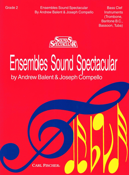Ensembles Sound Spectacular - Book 2