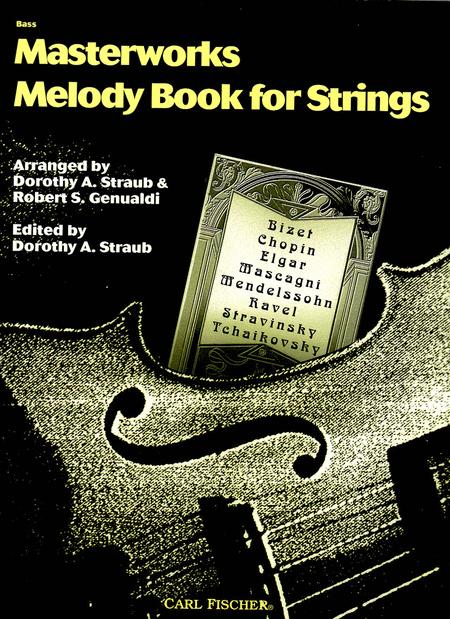 Masterworks Melody Book
