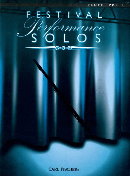 Festival Performance Solos - Volume 1 (Flute)
