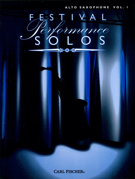 Festival Performance Solos - Volume 1 (Alto Saxophone)