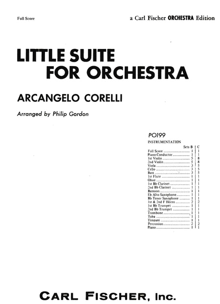 Little Suite For Orchestra