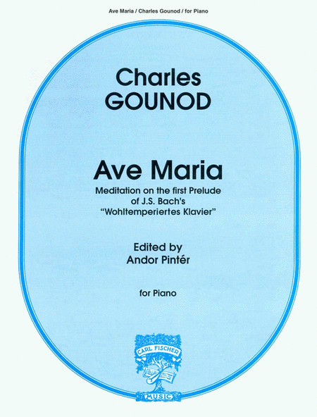 Ave Maria, For Piano