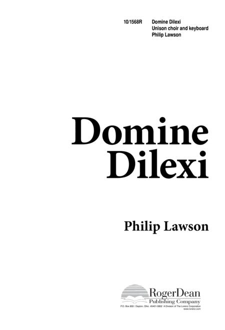 Domine Dilexi