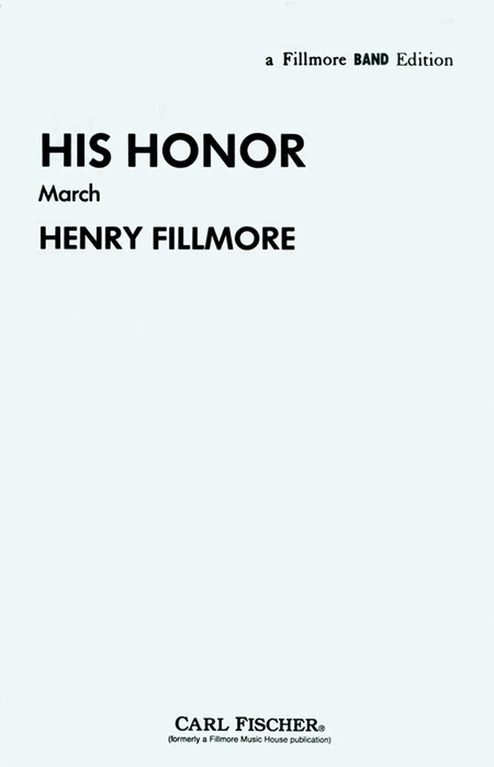 His Honor (March)