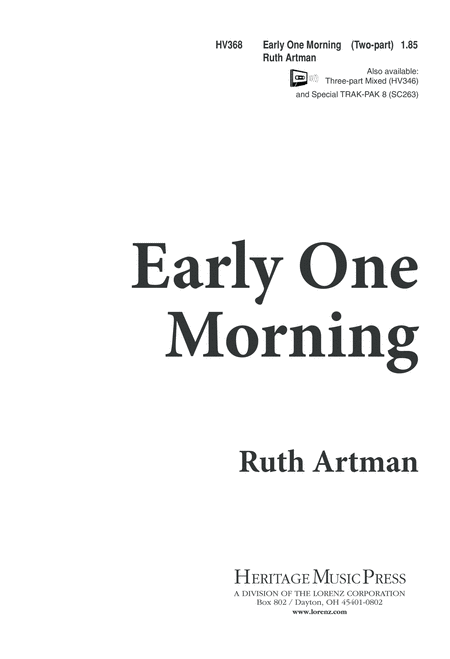 Early One Morning
