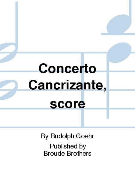 Concerto Cancrizante, score