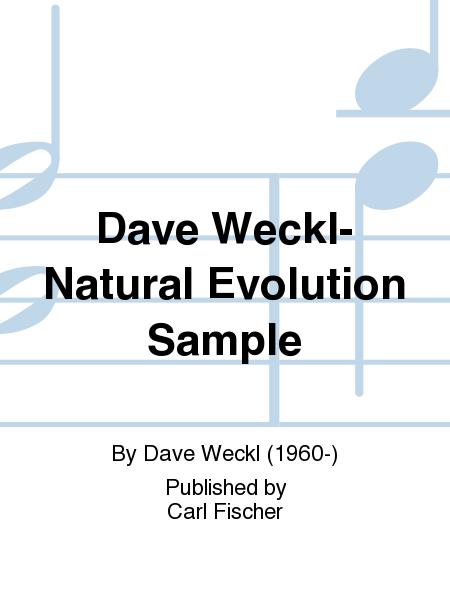 Dave Weckl-Natural Evolution Sample