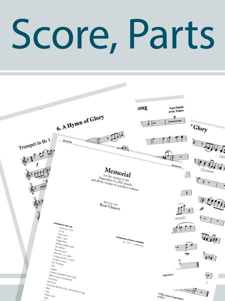 Ellens Zweiter Gesang - Full Score/Instrumental Parts