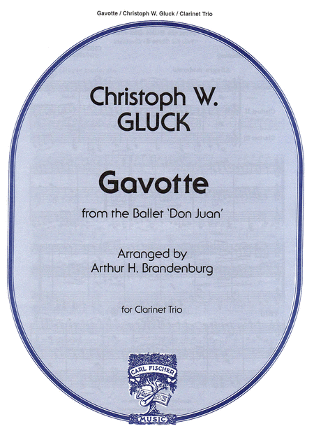 Gavotte from the Ballet 'Don Juan'