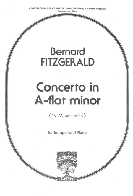 Concerto In A Flat Minor