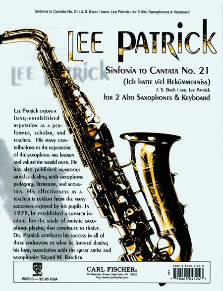 Sinfonia to Cantata No.21