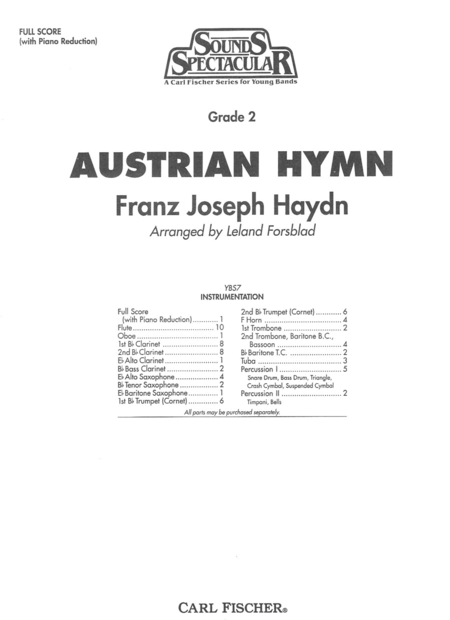 Austrian Hymn