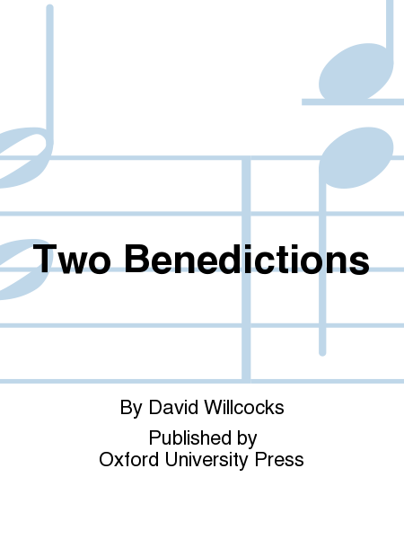 Two Benedictions