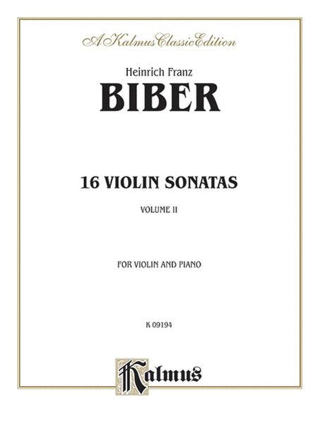 16 Sonatas Vln. & Piano
