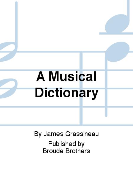 A Musical Dictionary