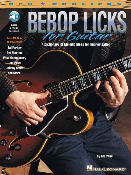141 Jazz Guitar Licks - Essential Lines and Patterns