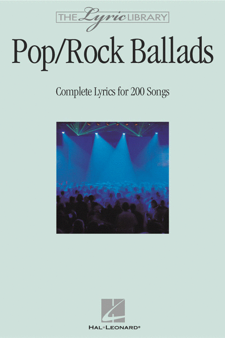 The Lyric Library: Pop/Rock Ballads