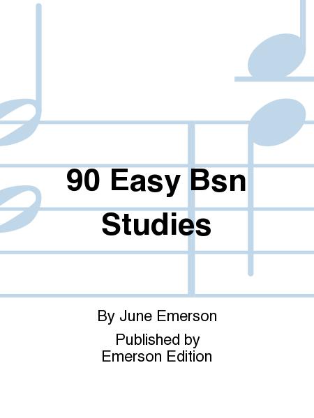 90 Easy Bsn Studies