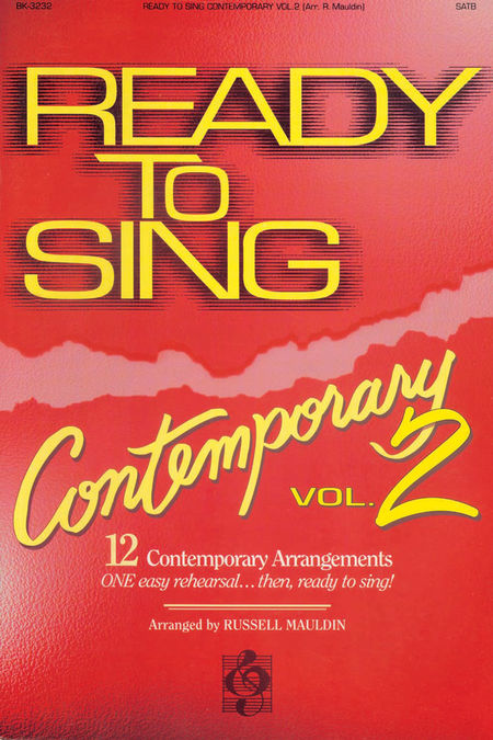 Ready To Sing Contemporary, Volume 2 (Choral Book)