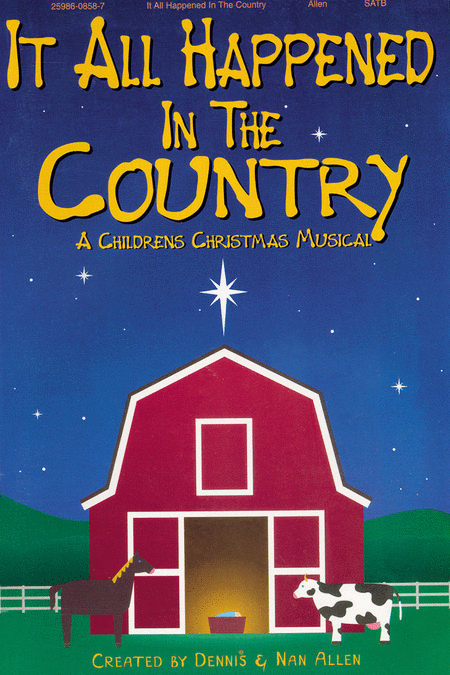 It All Happened In The Country (Choral Book)