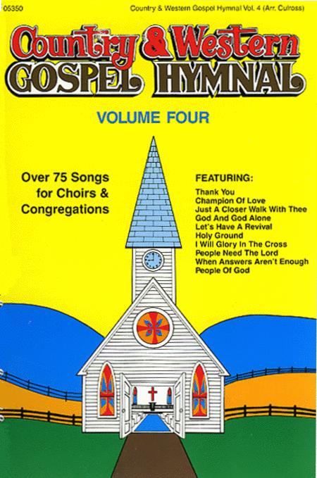 Country & Western Gospel Hymnal - Volume 4 (Book)