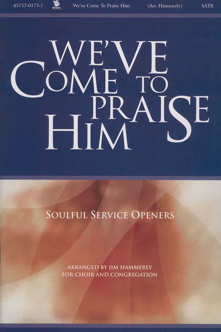 We've Come To Praise Him -Accompaniment CD (Split Track CD)