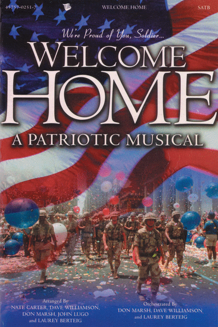 Welcome Home (Split Track Accompaniment CD)