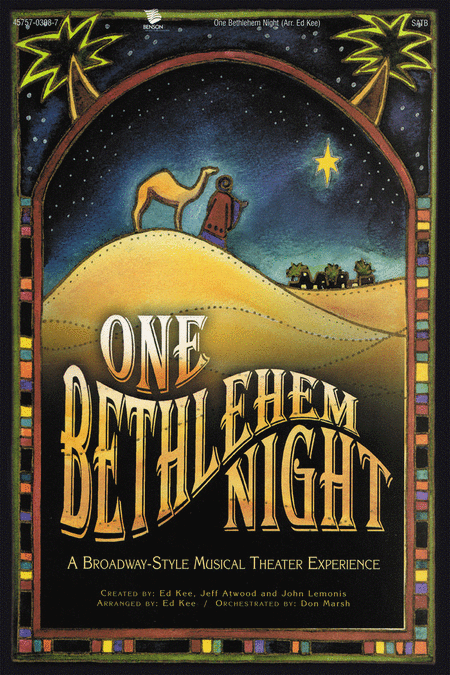 One Bethlehem Night (Choral Book)