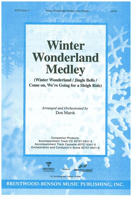 Winter Wonderland Medley (Split Track Accompaniment CD)
