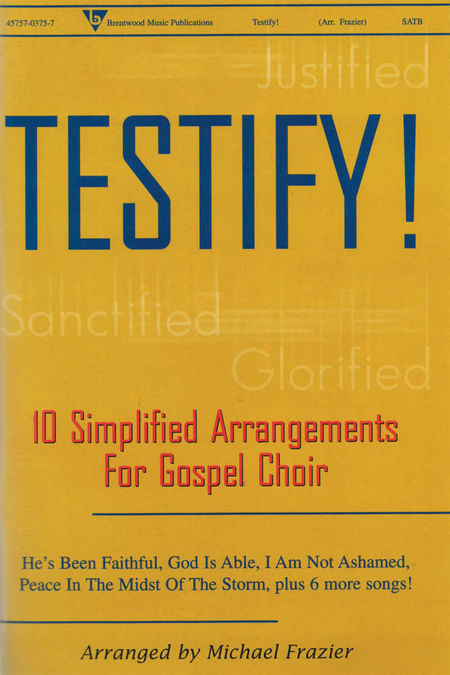 Testify! (CD Preview Pack)