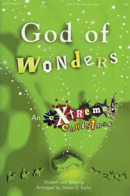 Extreme! Christmas...God Of Wonders (Split Track Accompaniment CD)