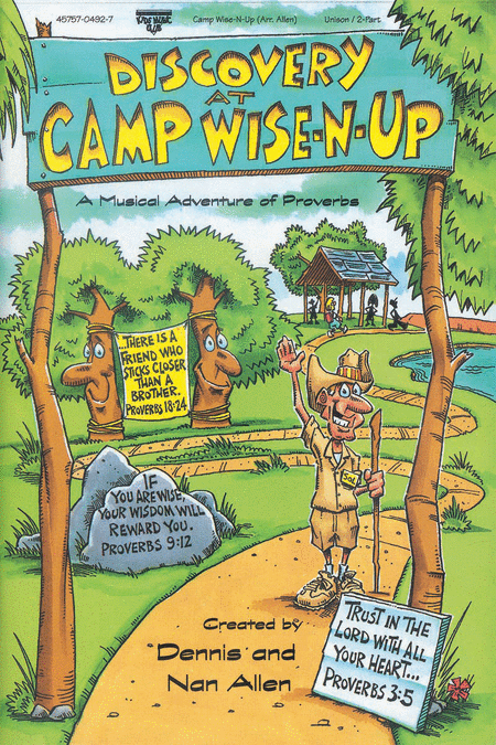 Discovery At Camp Wise-N-Up (Split Track Accompaniment CD)