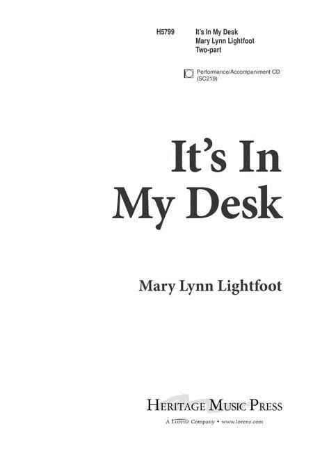 It's In My Desk