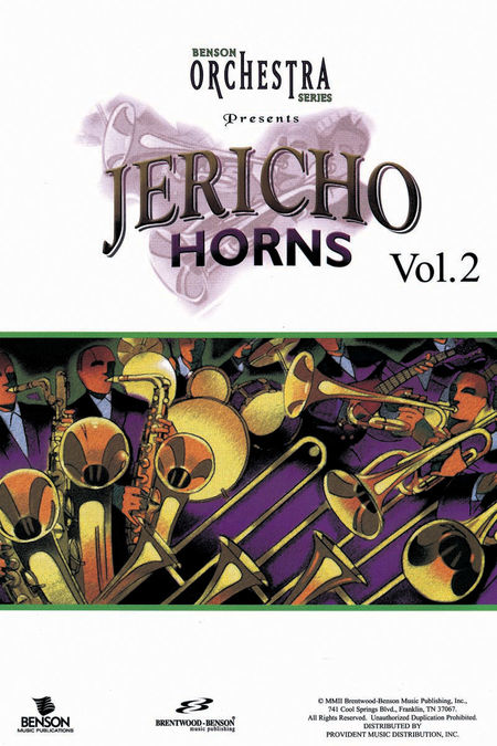 Jericho Horns, Volume 2 (Listening CD)
