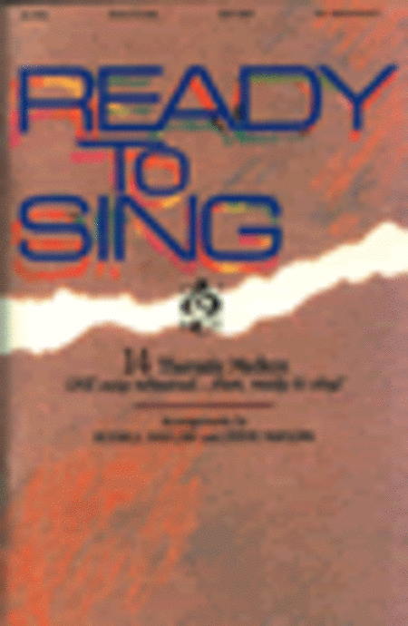 Ready To Sing V.1 Platinum Edition (Choral Book)