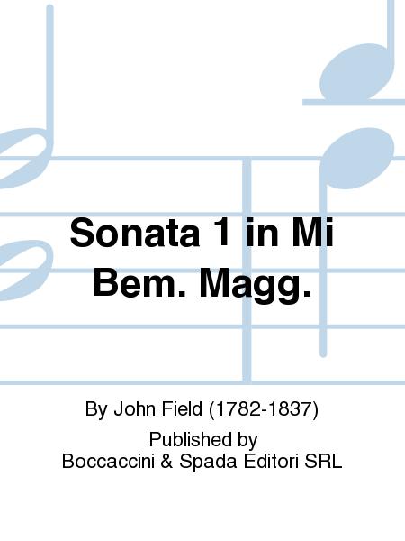 Sonata 1 in Mi Bem. Magg.