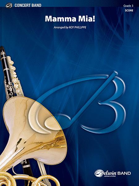 Mamma Mia! - Concert Band (Conductor's Score)