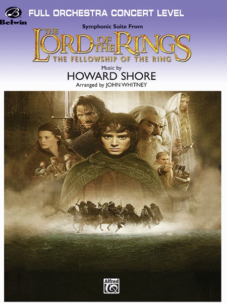 The Lord of the Rings: The Fellowship of the Ring, Symphonic Suite from